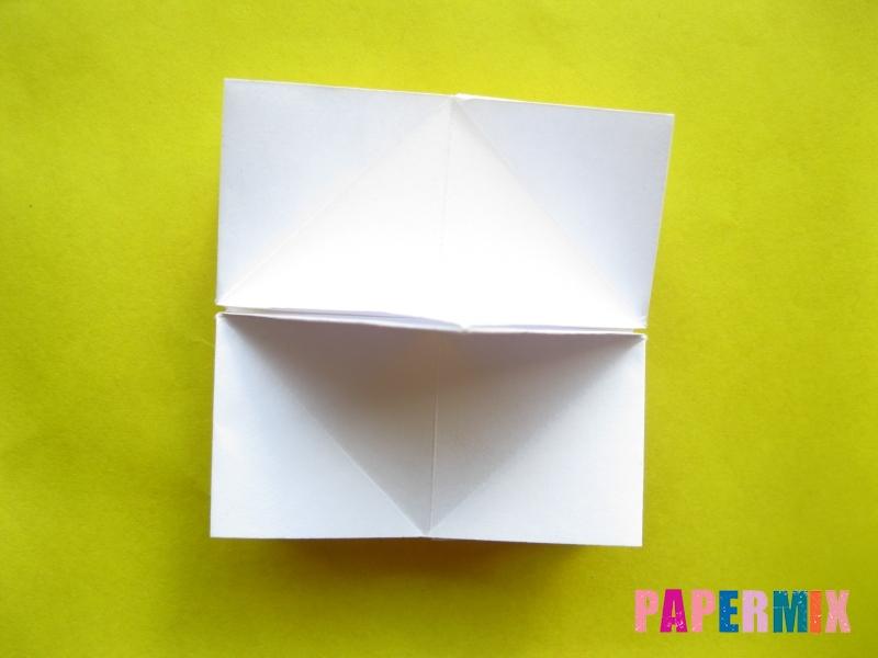 Как сделать розу из бумаги (оригами) поэтапно - шаг 16