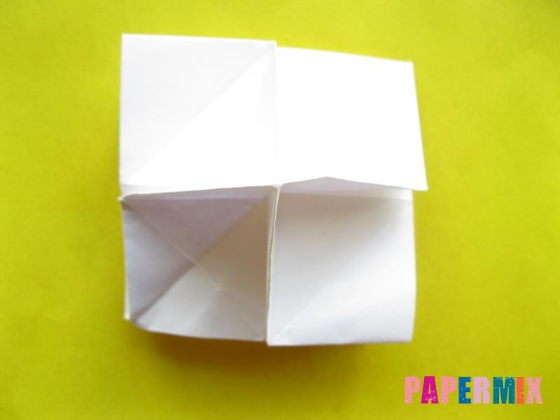 Как сделать розу из бумаги (оригами) поэтапно - шаг 17
