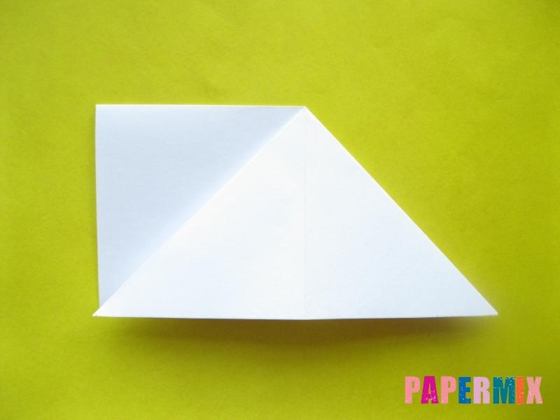 Как сделать розу из бумаги (оригами) поэтапно - шаг 4
