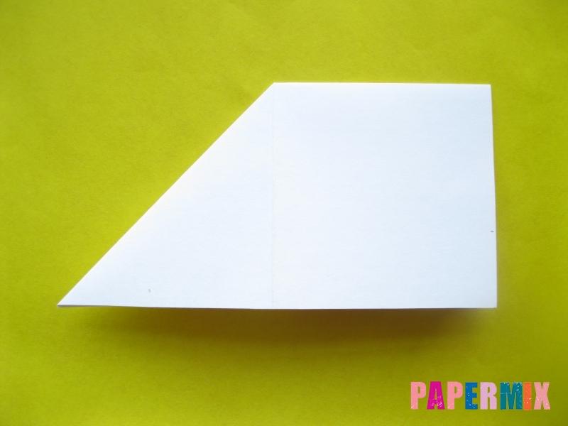 Как сделать розу из бумаги (оригами) поэтапно - шаг 5