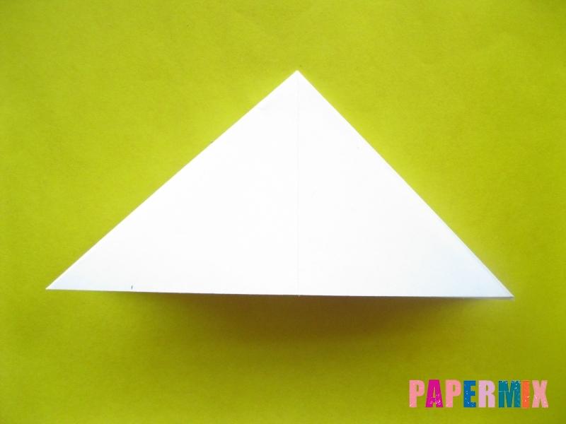Как сделать розу из бумаги (оригами) поэтапно - шаг 7