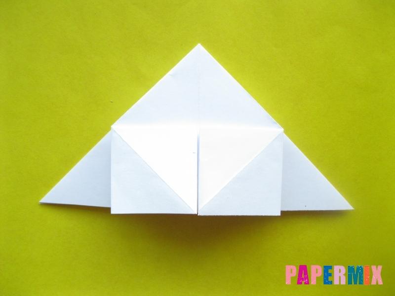 Как сделать розу из бумаги (оригами) поэтапно - шаг 9