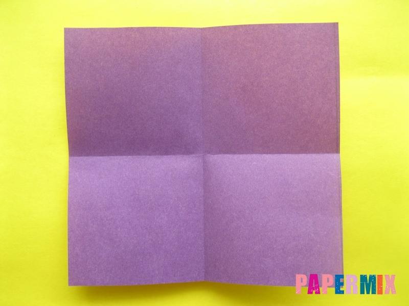 Как сделать цифру 1 из бумаги (оригами) своими руками - шаг 1