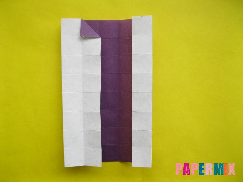 Как сделать цифру 1 из бумаги (оригами) своими руками - шаг 10