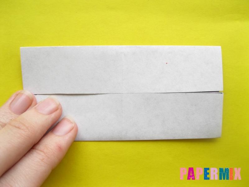 Как сделать цифру 1 из бумаги (оригами) своими руками - шаг 2