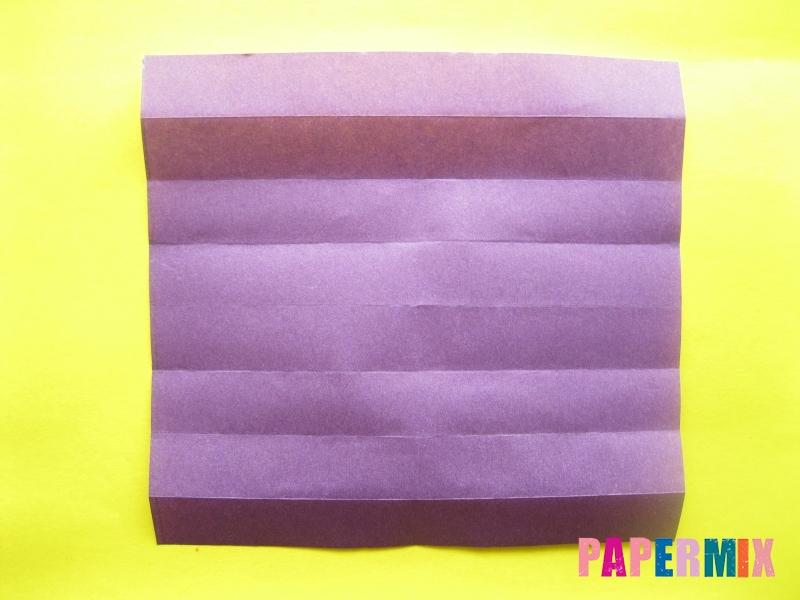 Как сделать цифру 1 из бумаги (оригами) своими руками - шаг 4
