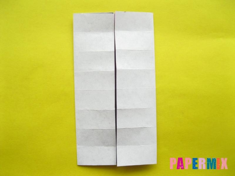 Как сделать цифру 1 из бумаги (оригами) своими руками - шаг 5