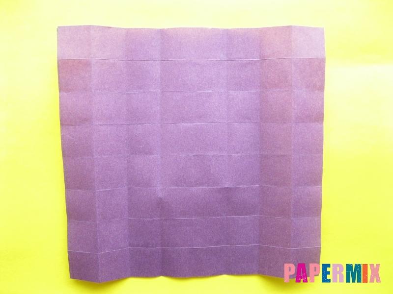 Как сделать цифру 1 из бумаги (оригами) своими руками - шаг 7