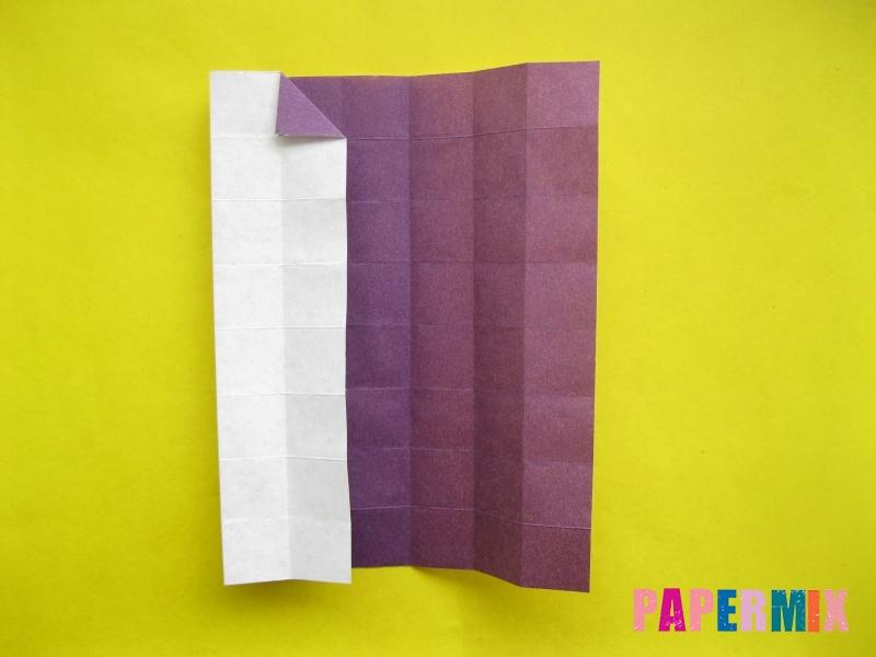Как сделать цифру 1 из бумаги (оригами) своими руками - шаг 9
