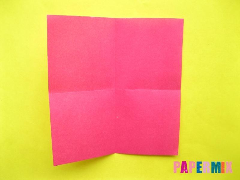 Как сделать цифру 2 из бумаги (оригами) своими руками - шаг 1