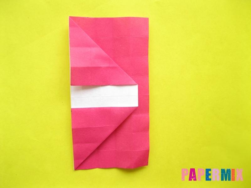 Как сделать цифру 2 из бумаги (оригами) своими руками - шаг 10