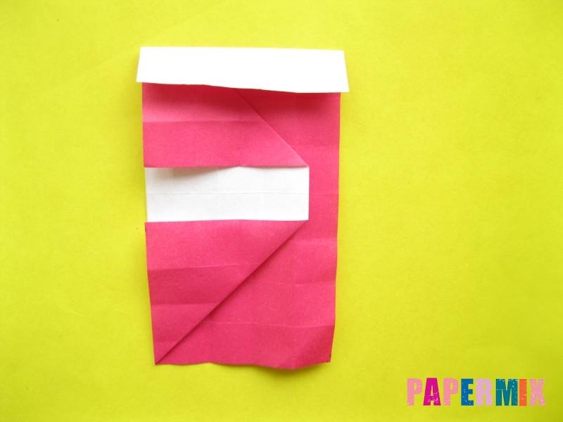Как сделать цифру 2 из бумаги (оригами) своими руками - шаг 11