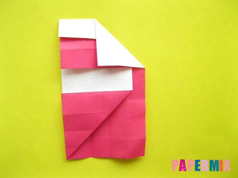 Как сделать цифру 2 из бумаги (оригами) своими руками - шаг 12