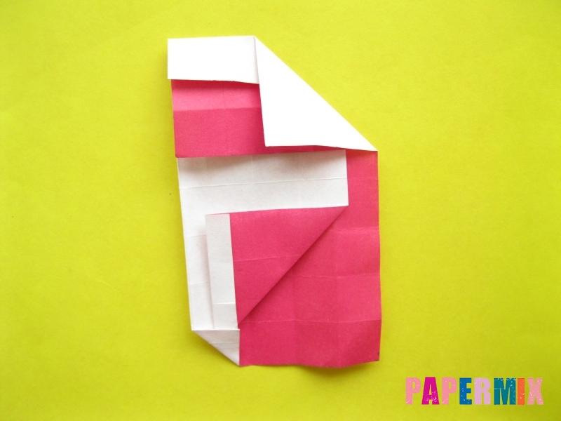 Как сделать цифру 2 из бумаги (оригами) своими руками - шаг 14