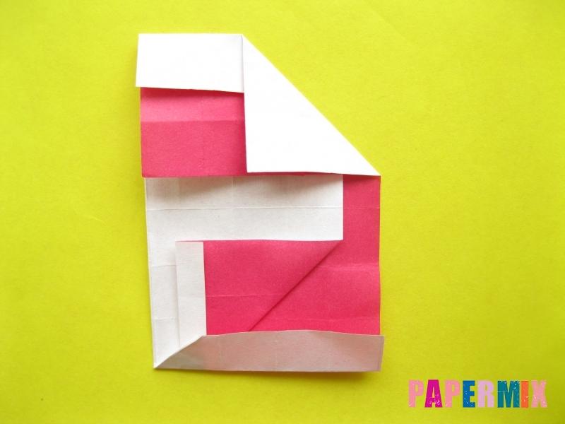 Как сделать цифру 2 из бумаги (оригами) своими руками - шаг 15