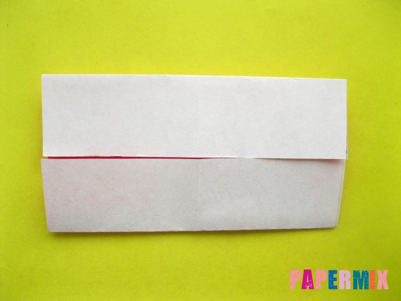 Как сделать цифру 2 из бумаги (оригами) своими руками - шаг 3
