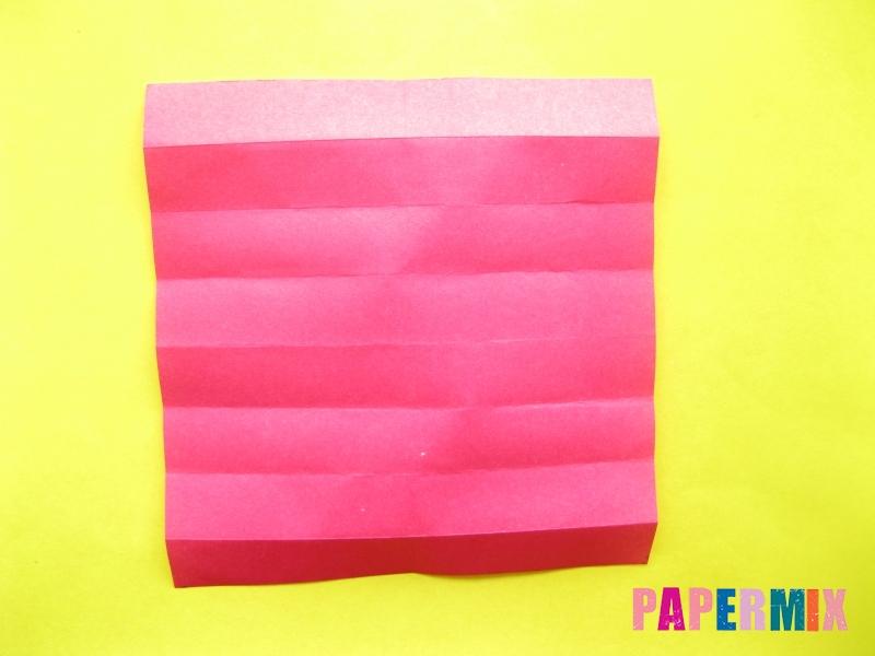 Как сделать цифру 2 из бумаги (оригами) своими руками - шаг 5
