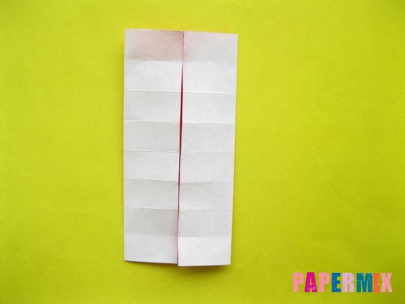 Как сделать цифру 2 из бумаги (оригами) своими руками - шаг 6
