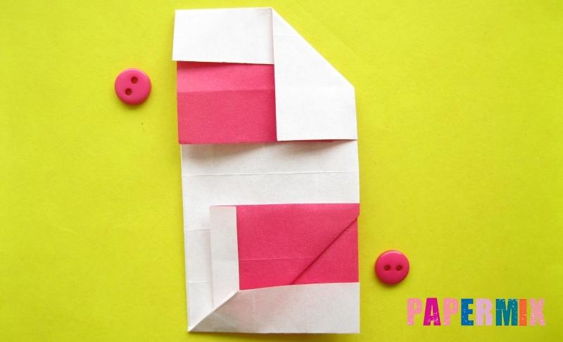 Как сделать цифру 2 из бумаги в технике оригами своими руками