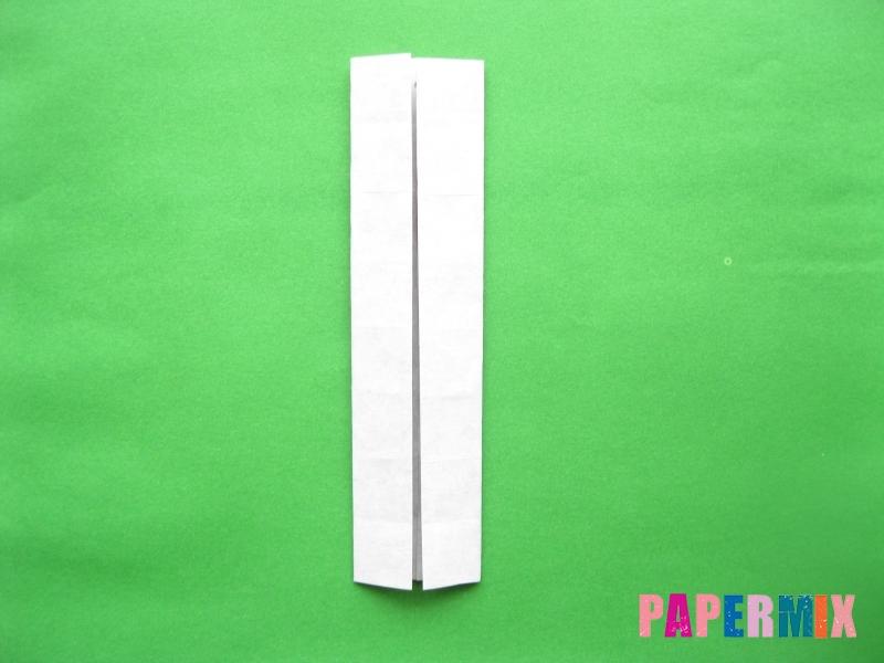 Как сделать цифру 3 из бумаги (оригами) своими руками - шаг 6