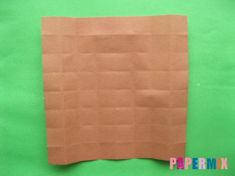 Как сделать цифру 3 из бумаги (оригами) своими руками - шаг 7