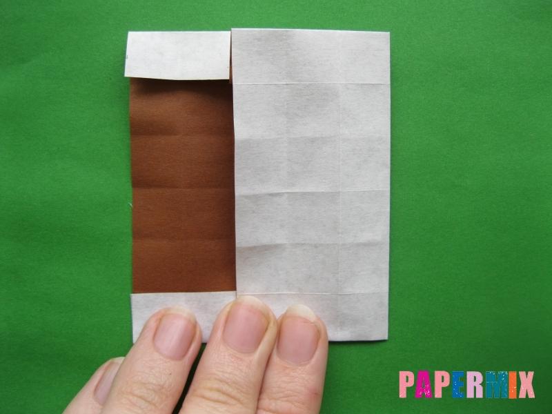 Как сделать цифру 3 из бумаги (оригами) своими руками - шаг 9