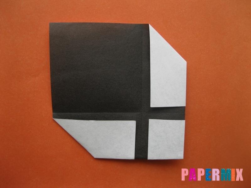 Как сделать цифру 4 из бумаги (оригами) своими руками - шаг 4