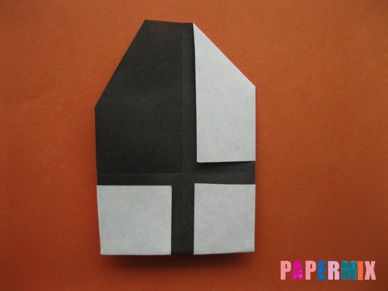 Как сделать цифру 4 из бумаги (оригами) своими руками - шаг 6