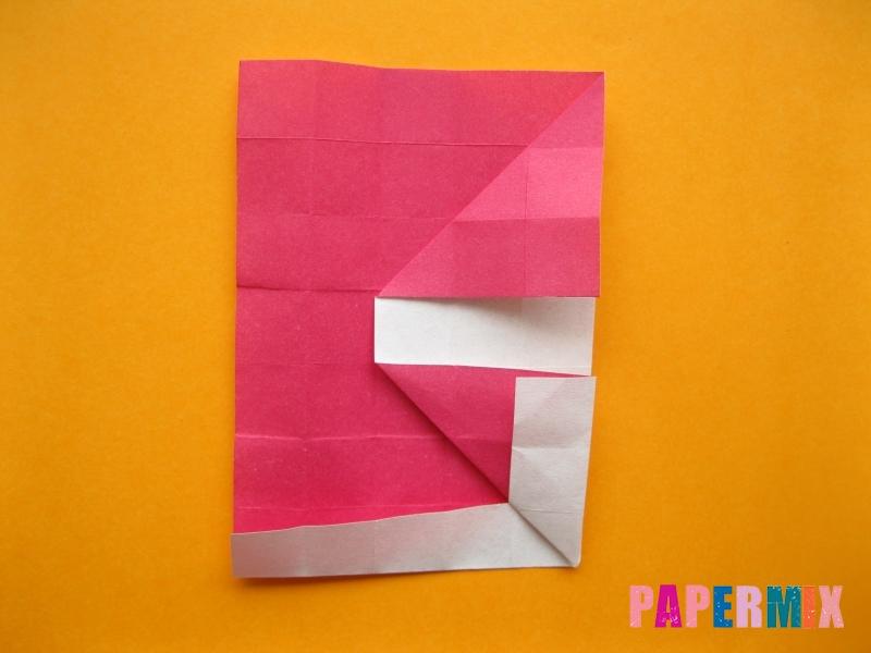 Как сделать цифру 5 из бумаги (оригами) своими руками - шаг 10