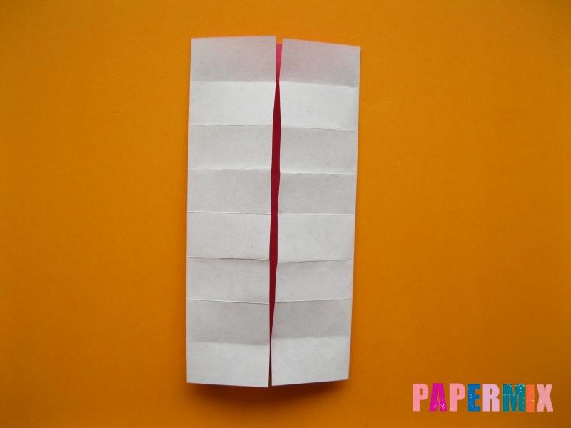Как сделать цифру 5 из бумаги (оригами) своими руками - шаг 5