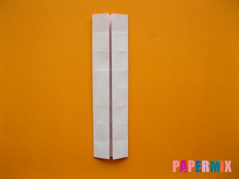 Как сделать цифру 5 из бумаги (оригами) своими руками - шаг 6