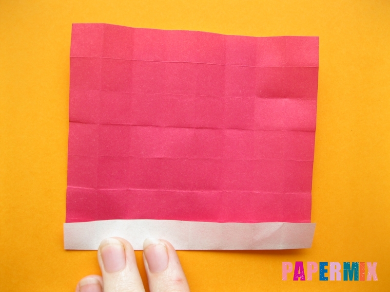 Как сделать цифру 5 из бумаги (оригами) своими руками - шаг 8