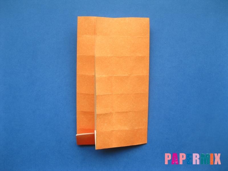 Как сделать цифру 6 из бумаги (оригами) своими руками - шаг 10