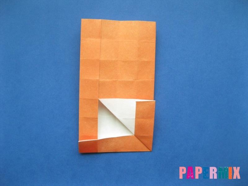 Как сделать цифру 6 из бумаги (оригами) своими руками - шаг 11
