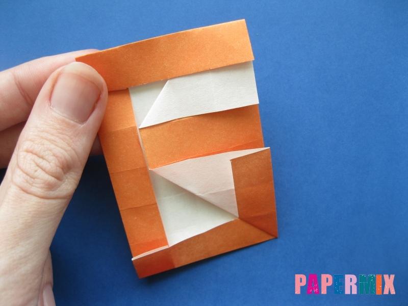 Как сделать цифру 6 из бумаги (оригами) своими руками - шаг 14