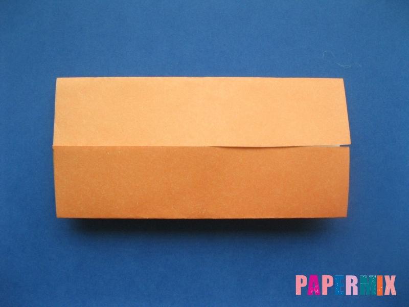 Как сделать цифру 6 из бумаги (оригами) своими руками - шаг 2