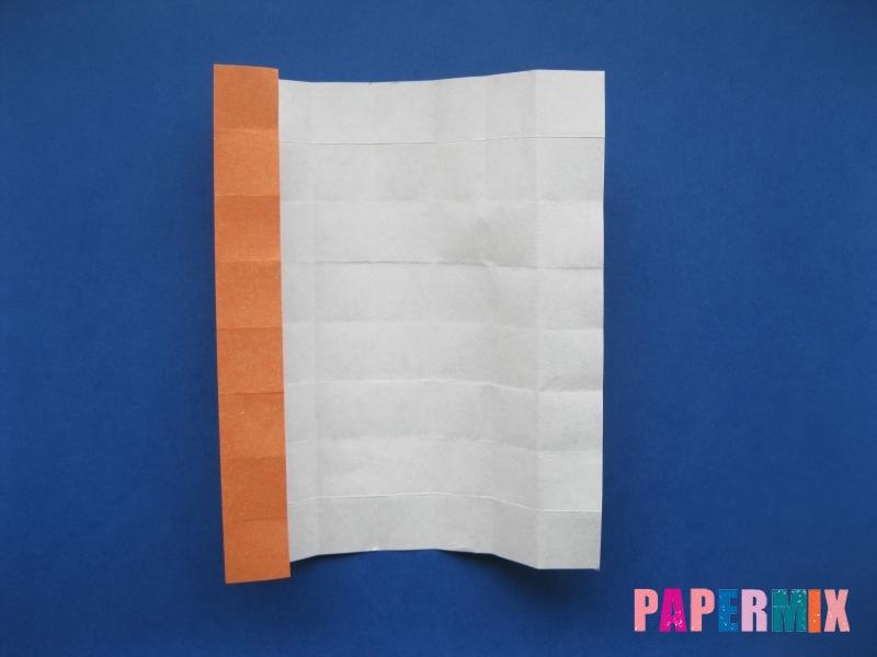 Как сделать цифру 6 из бумаги (оригами) своими руками - шаг 8