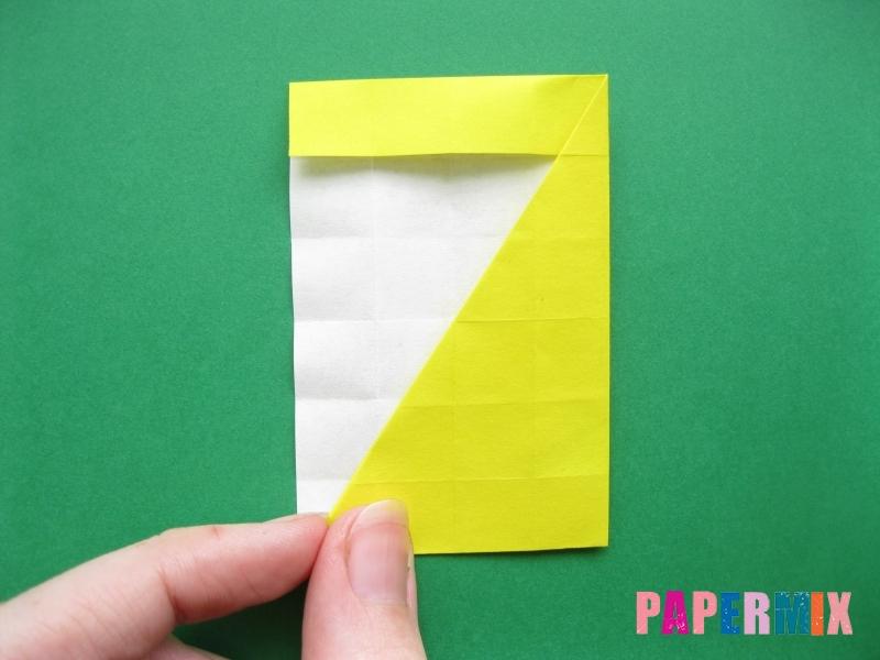 Как сделать цифру 7 из бумаги (оригами) своими руками - шаг 11