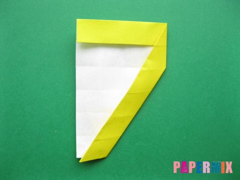 Как сделать цифру 7 из бумаги (оригами) своими руками - шаг 12