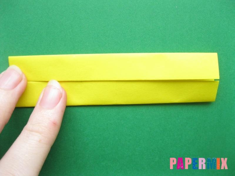 Как сделать цифру 7 из бумаги (оригами) своими руками - шаг 3