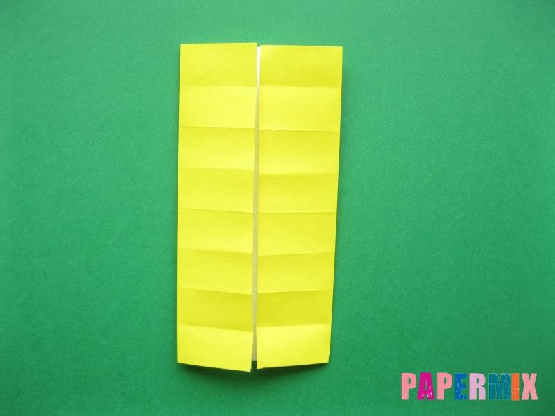 Как сделать цифру 7 из бумаги (оригами) своими руками - шаг 5