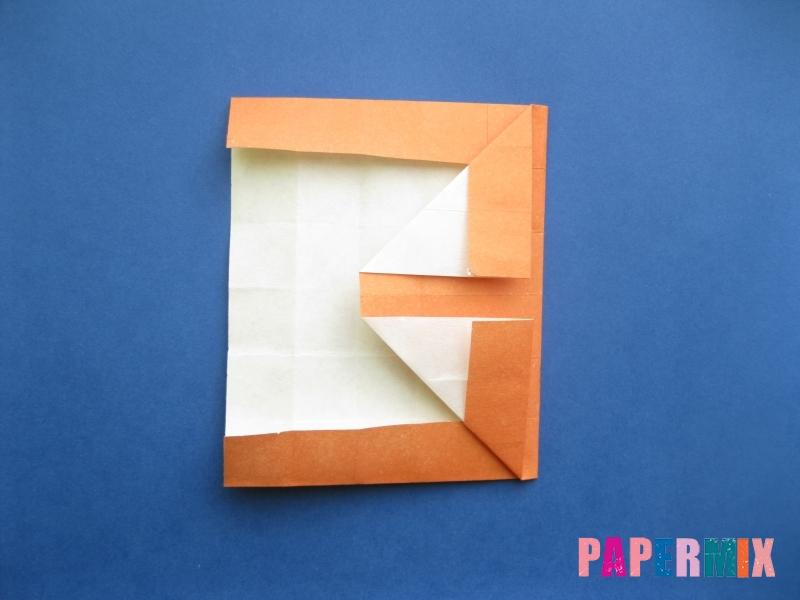 Как сделать цифру 8 из бумаги (оригами) своими руками - шаг 10