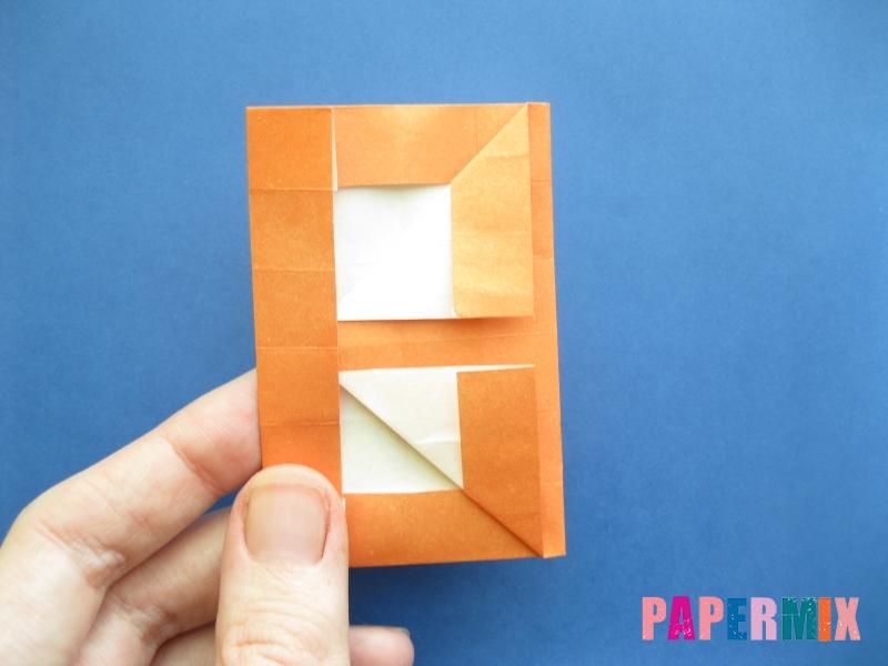 Как сделать цифру 8 из бумаги (оригами) своими руками - шаг 12