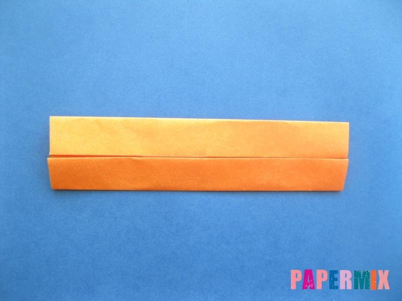 Как сделать цифру 8 из бумаги (оригами) своими руками - шаг 3