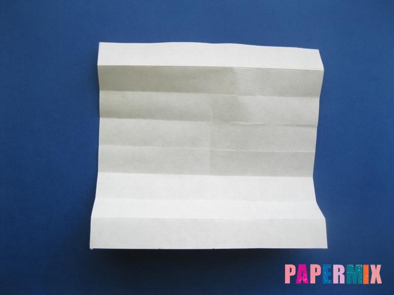 Как сделать цифру 8 из бумаги (оригами) своими руками - шаг 4