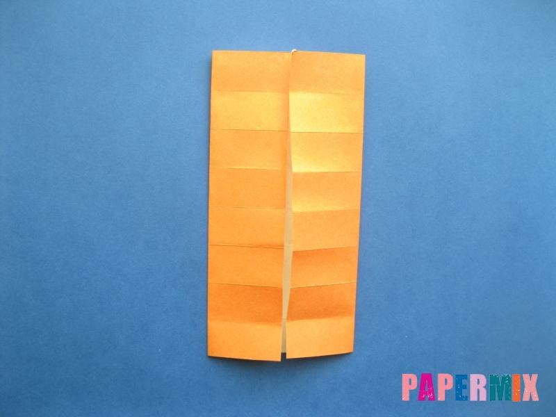 Как сделать цифру 8 из бумаги (оригами) своими руками - шаг 5