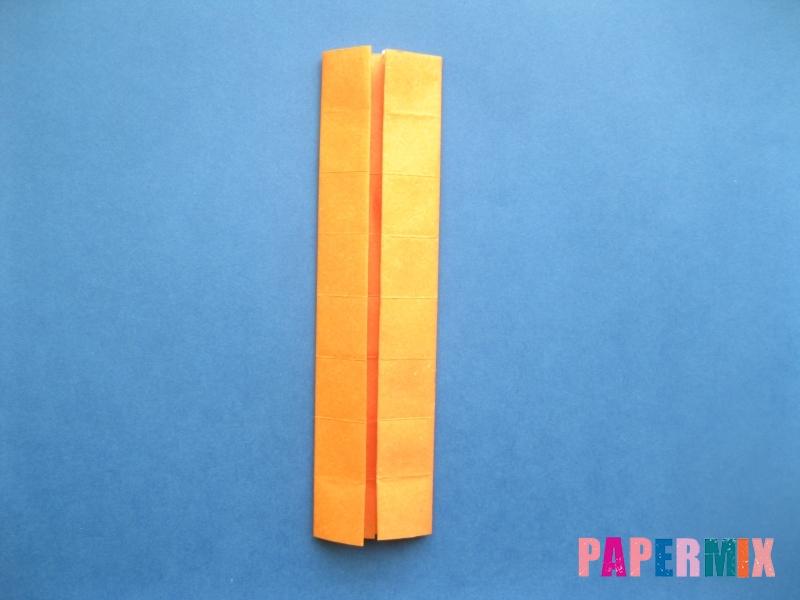 Как сделать цифру 8 из бумаги (оригами) своими руками - шаг 6