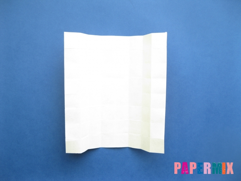 Как сделать цифру 8 из бумаги (оригами) своими руками - шаг 7