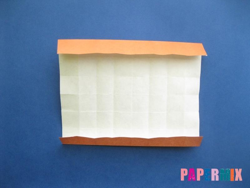 Как сделать цифру 8 из бумаги (оригами) своими руками - шаг 8