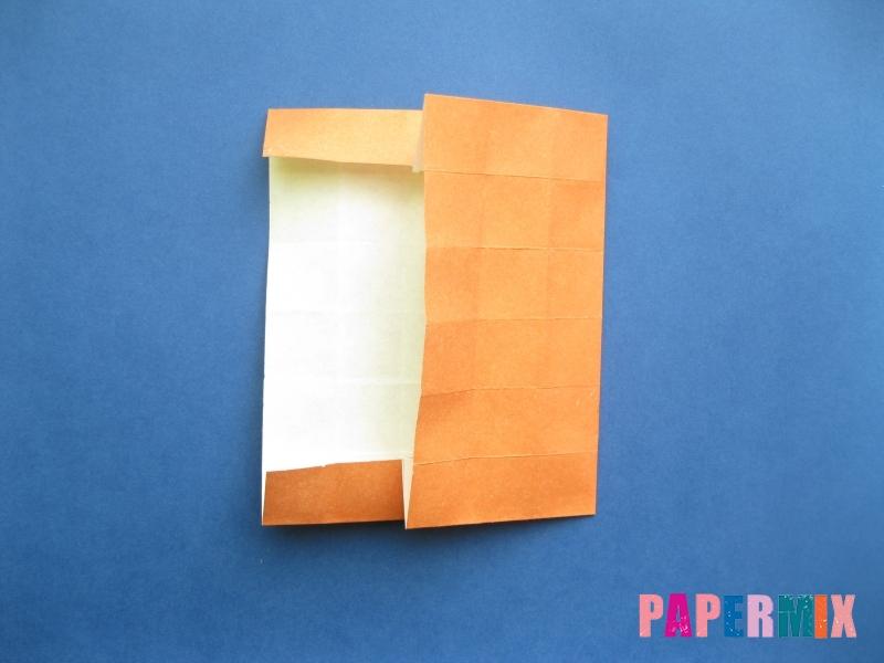 Как сделать цифру 8 из бумаги (оригами) своими руками - шаг 9